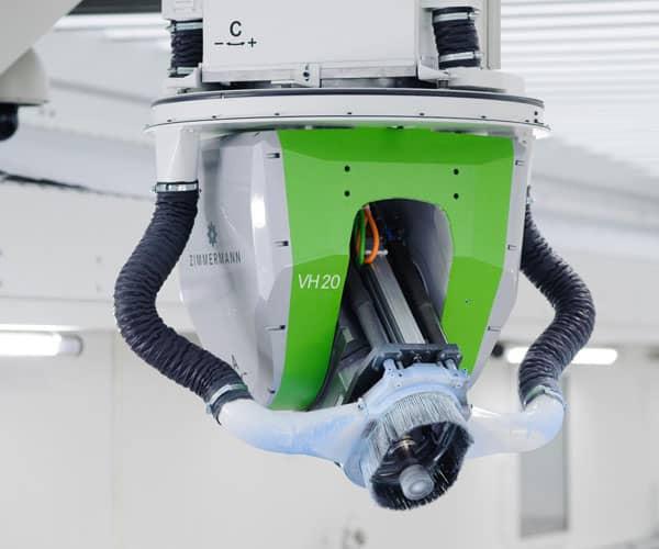 Zimmermann mecanizado fibra de carbono