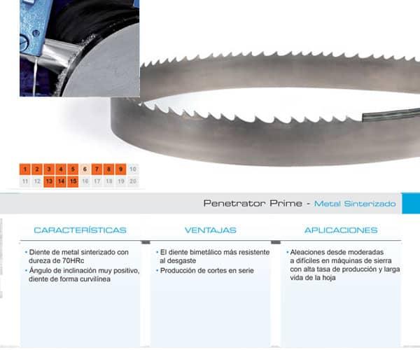 DoALL sierra cinta Penetrator Prime metal sinterizado