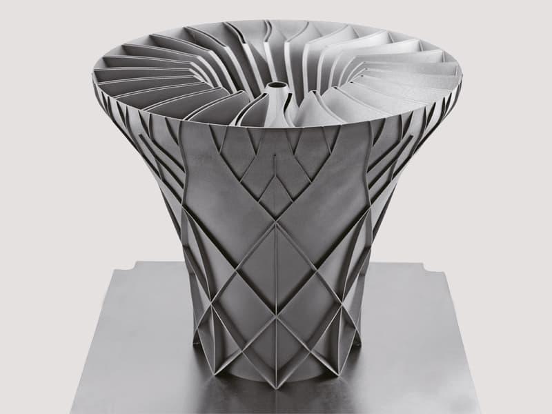 Turbina aeroespacial en SLM
