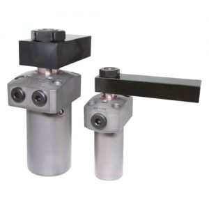 Elementos para soluciones de amarre Kosmek Garra hidráulica giratoria