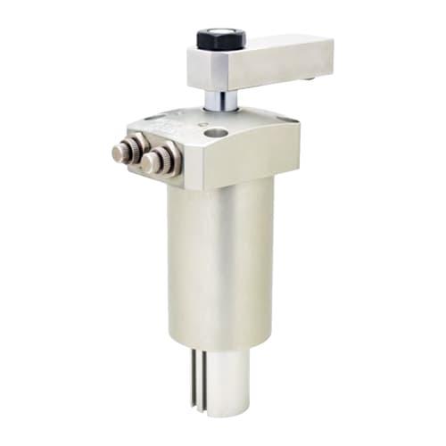 Elementos para soluciones de amarre Kosmek Garra neumática giratoria. (High-Power)