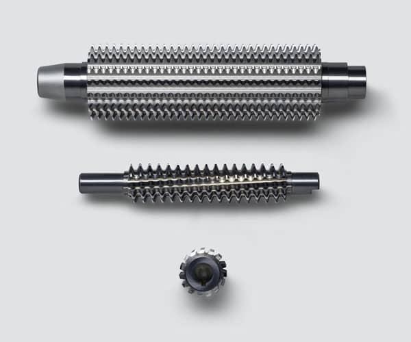 Haas Multigrind rectificado de espirales y tornillos para máquinas de molde