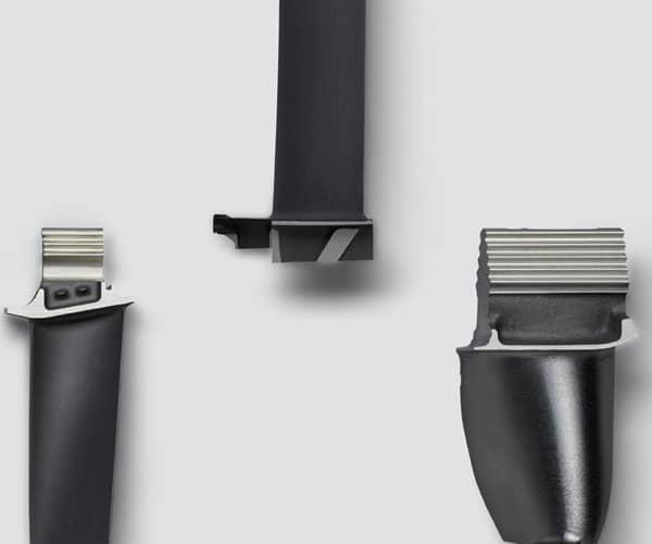 Haas Multigrind rectificado de álaves y componentes de turbina