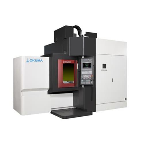 Fabricación aditiva metales Okuma MU-5000V LASER EX