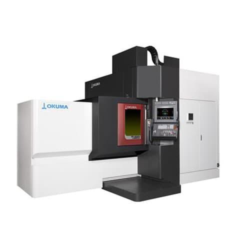Fabricación aditiva metales Okuma MU-8000V LASER EX