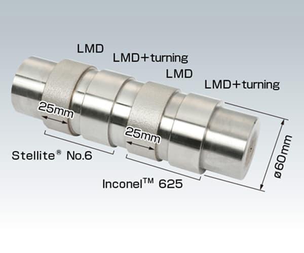 Fabricación aditiva laser LMD recubrimiento