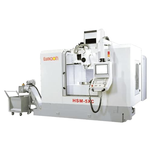 Centros mecanizado 5 ejes Eumach HSM-5XA