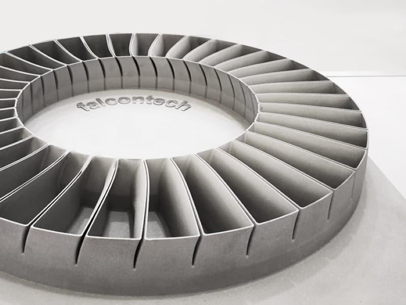 Pieza en impresión 3D Falcontech