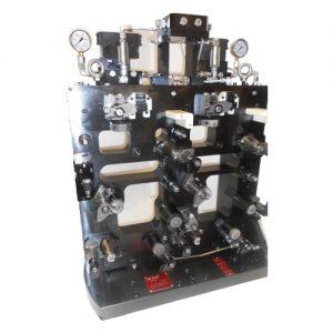 Utillajes a medida MAQcenter Utillaje OKUMA MB-5000H (OP.10 2 piezas)